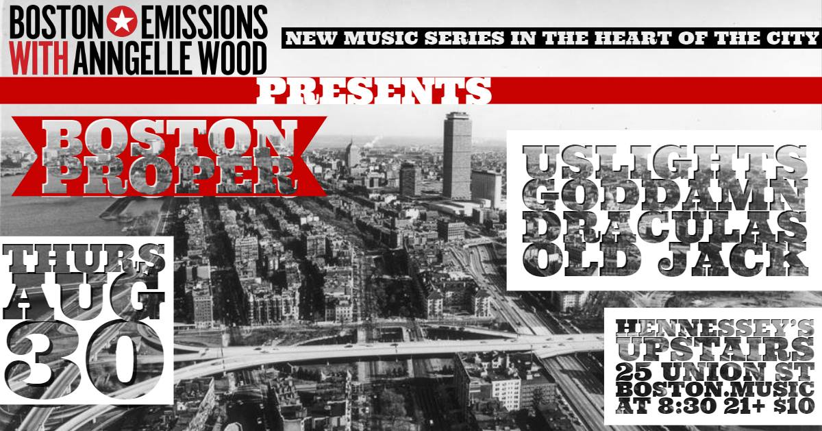 Boston Proper Music Series at Hennessy's Upstairs