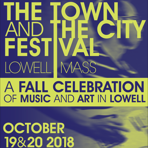 Abbie Barrett and Kingsley Flood at Warp and Weft, Lowell with for The Town and The City Festival