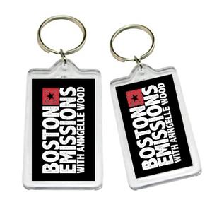 Boston Emisisons keychain