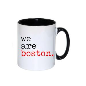 we are boston mug